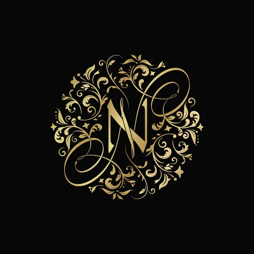 N&N wedding monogram