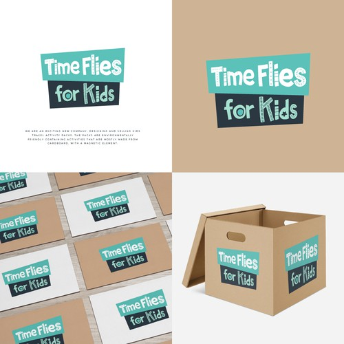 Logo Time Flies for Kids