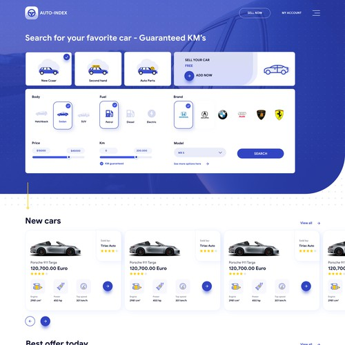 Dealer Auto Platform - Sell and Buy cars