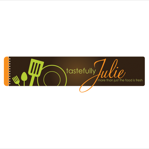 Create the next logo for TastefullyJulie.com