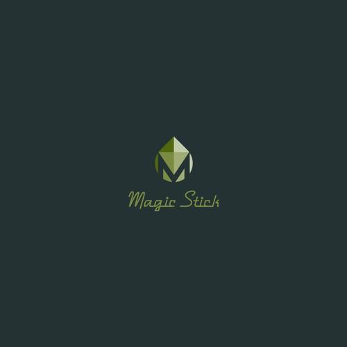 Bold logo concept for Magic Stick