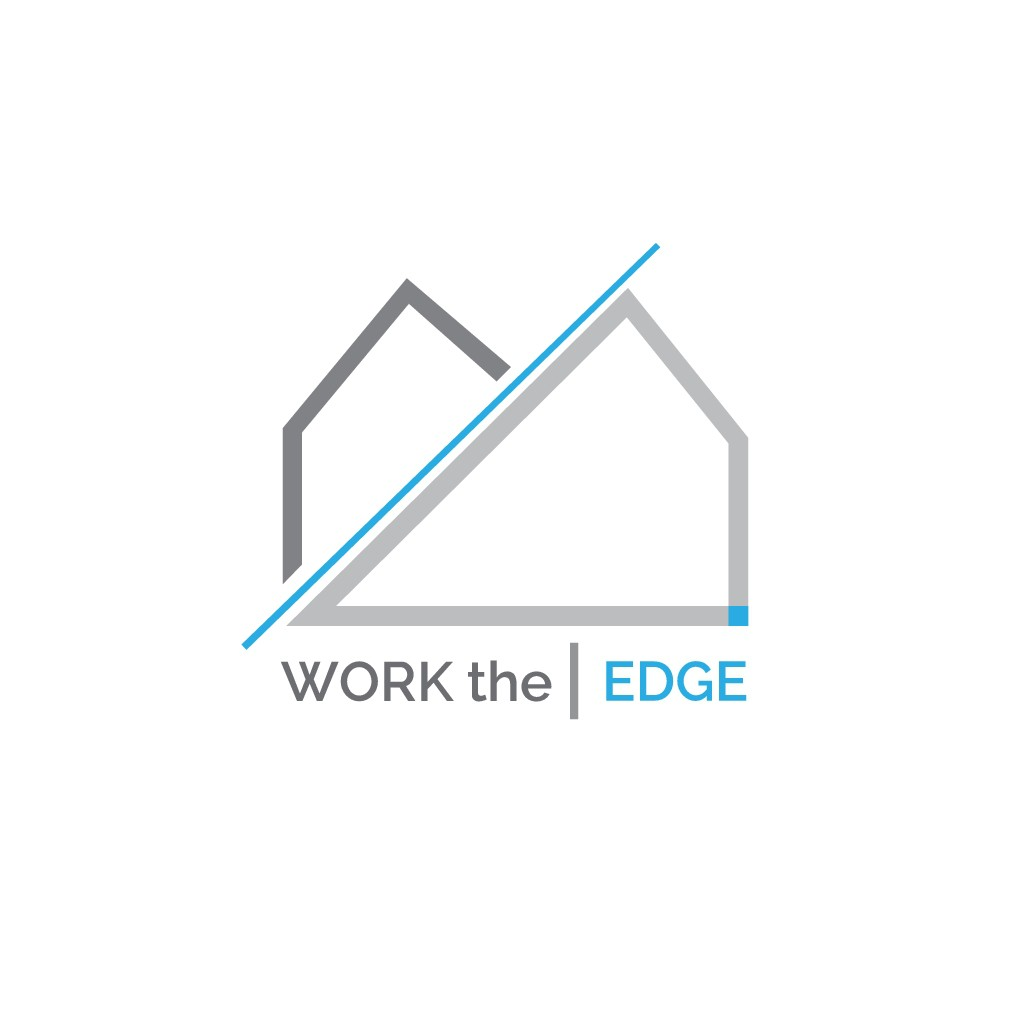 Create a playful and professional design for Work the Edge