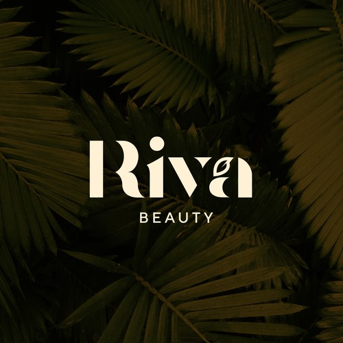 An elegant logo design for a line of beauty products like body lotions & skin, hair, body care