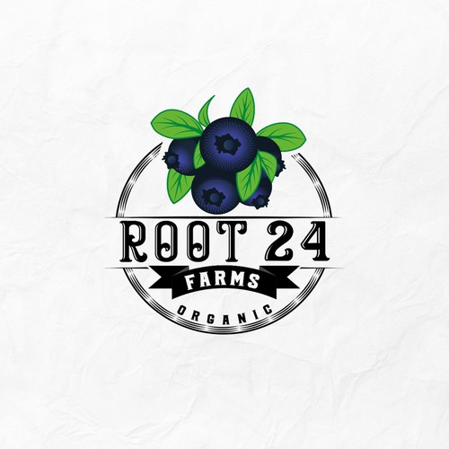 Root 24 Farms Logo