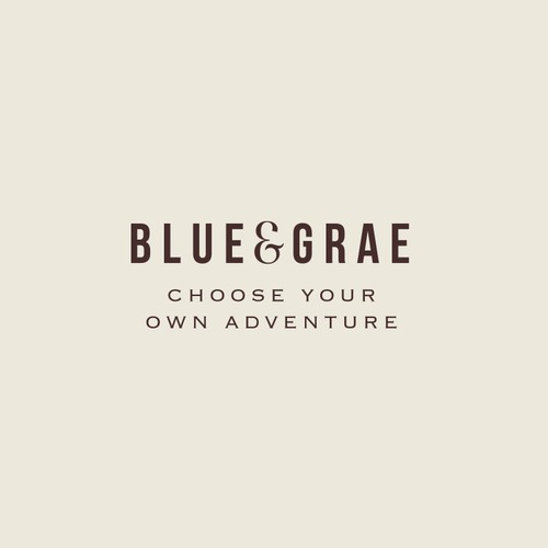 Blue&Grae logo design