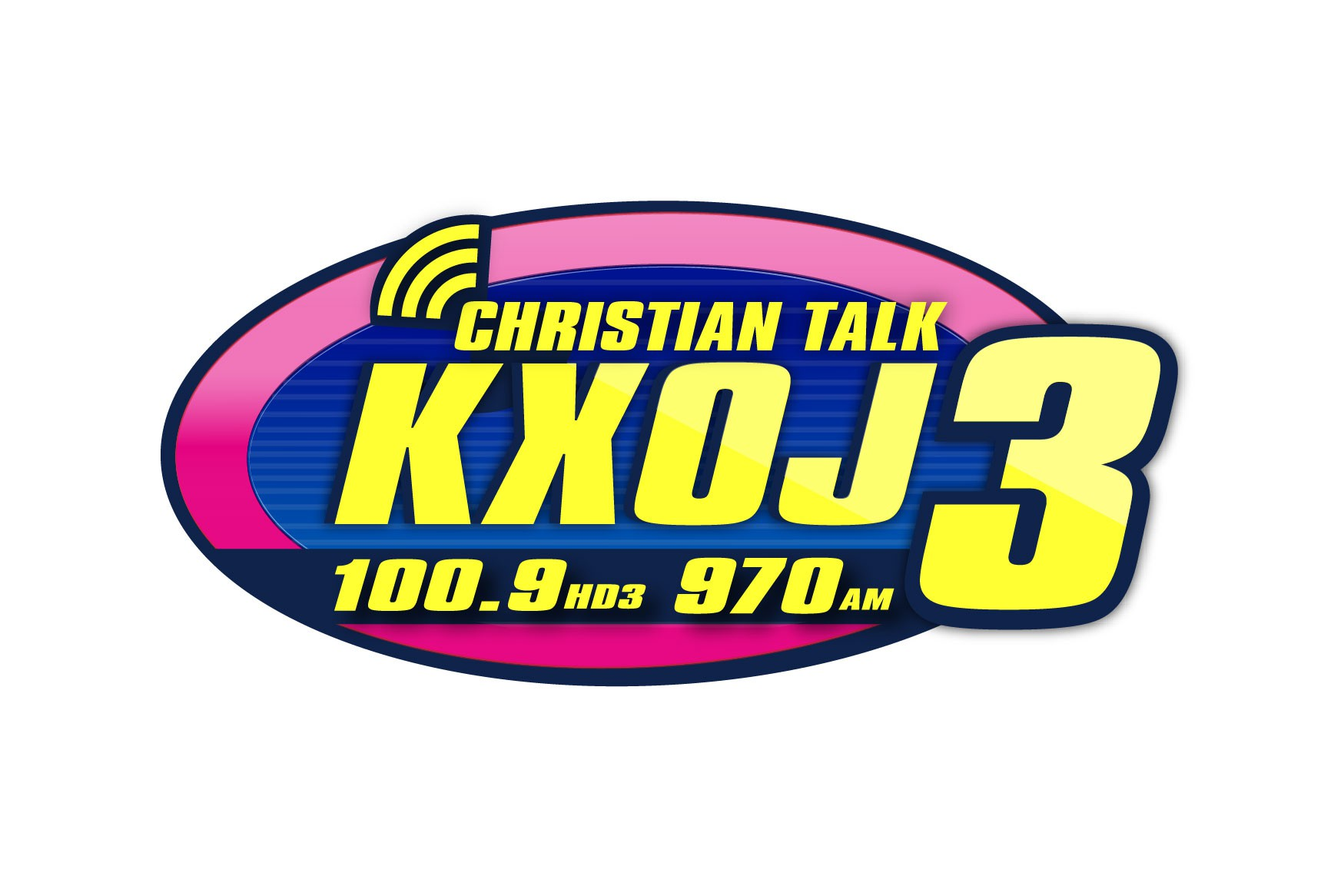 New version of existing logo for additional radio channel