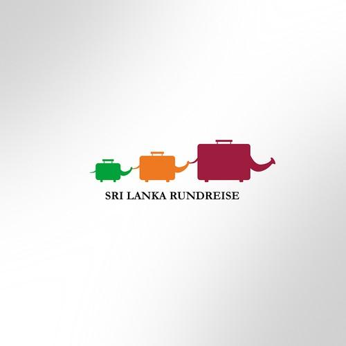 Winning Entry Version 2/Logo for Travel Agency organizing tours to Sri Lanka.