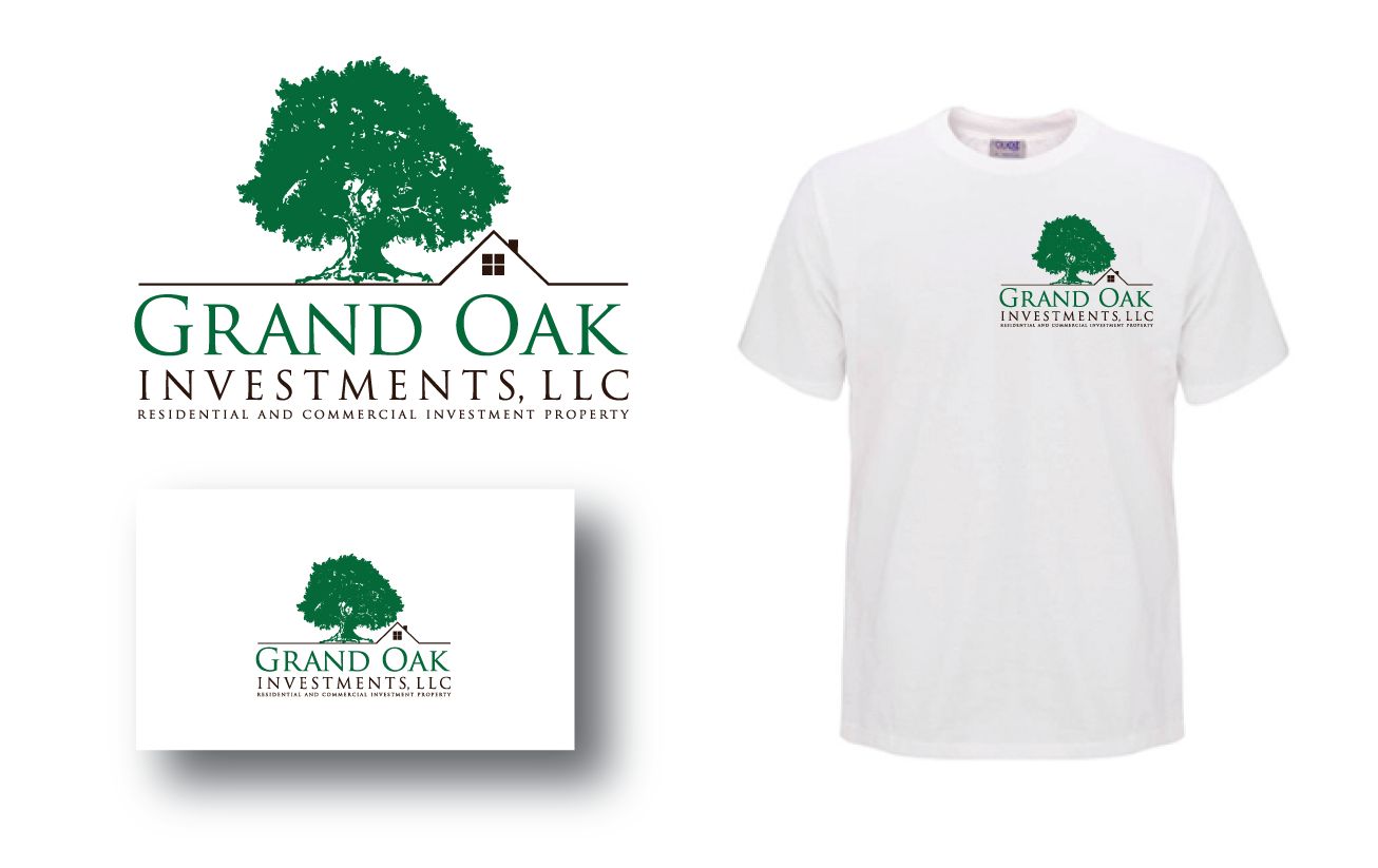 Help Grand Oak Investments, LLC with a new logo