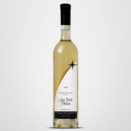 A New label for Domaine du Vieil Orme