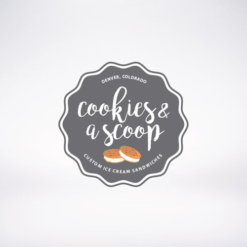Cookies & a scoop logo