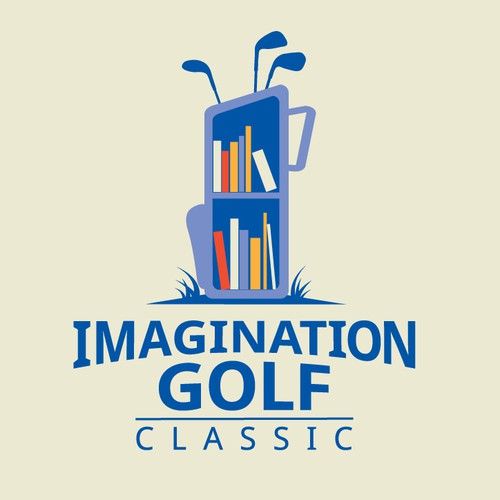 Golf bag bookcase