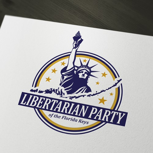Logo for Libertarian Party of the Florida Keys