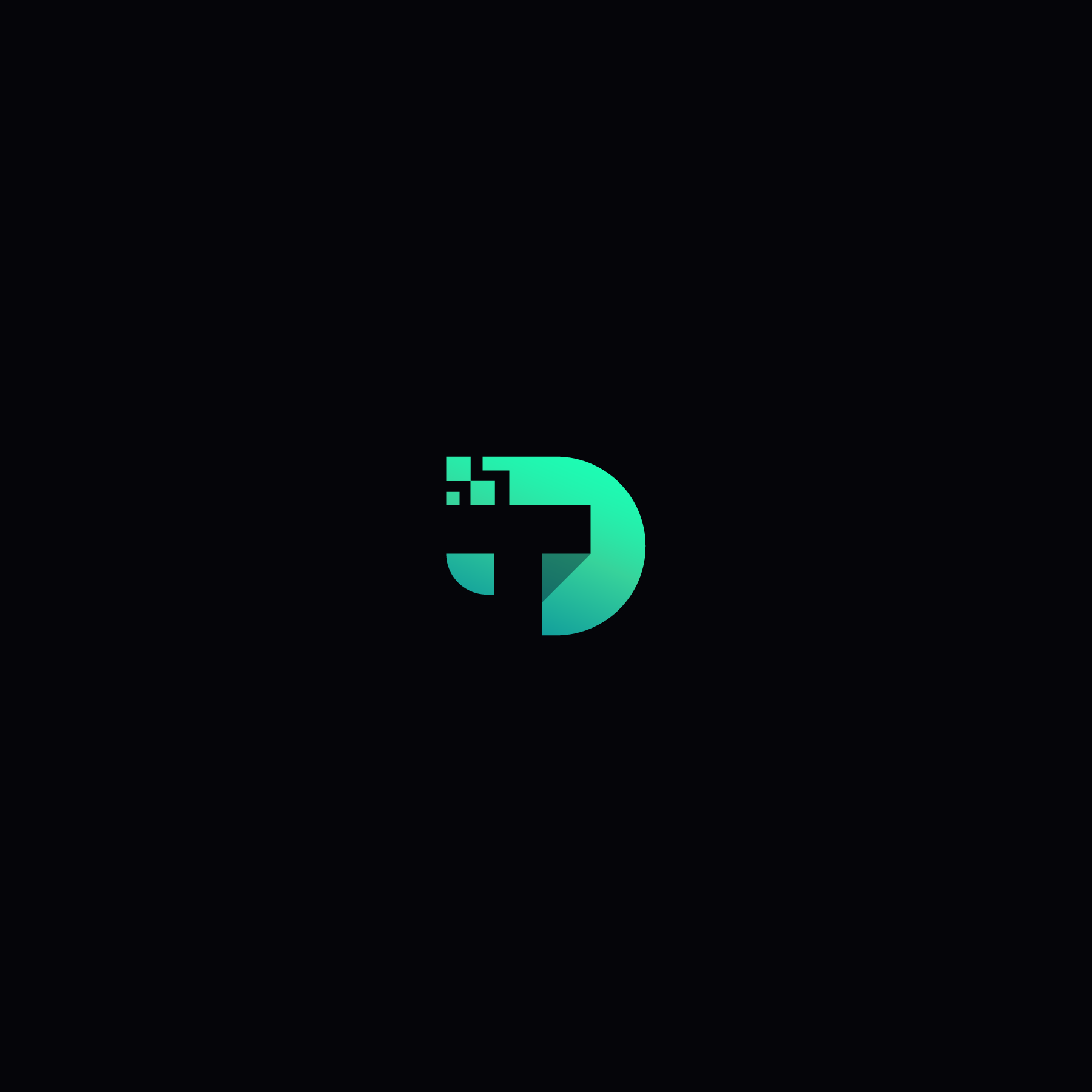 Technology Icon/word logo