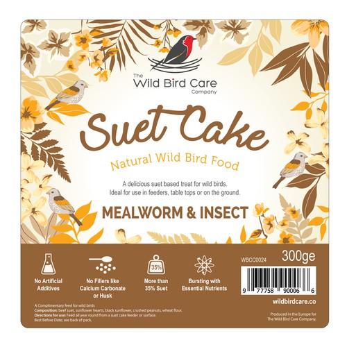 Bird Suet Cake