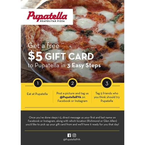 Pupatella Promo Flyer