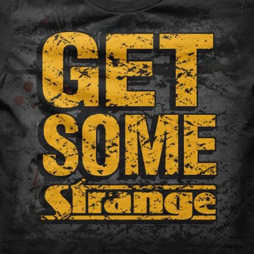 Create a STRANGE t-shirt design