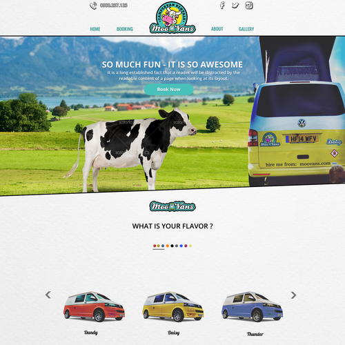 Campervan Company Website
