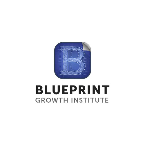 Bold logo for blueprint