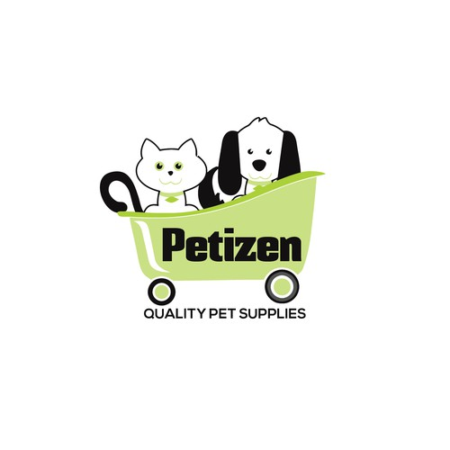Animal logo design for pet shop