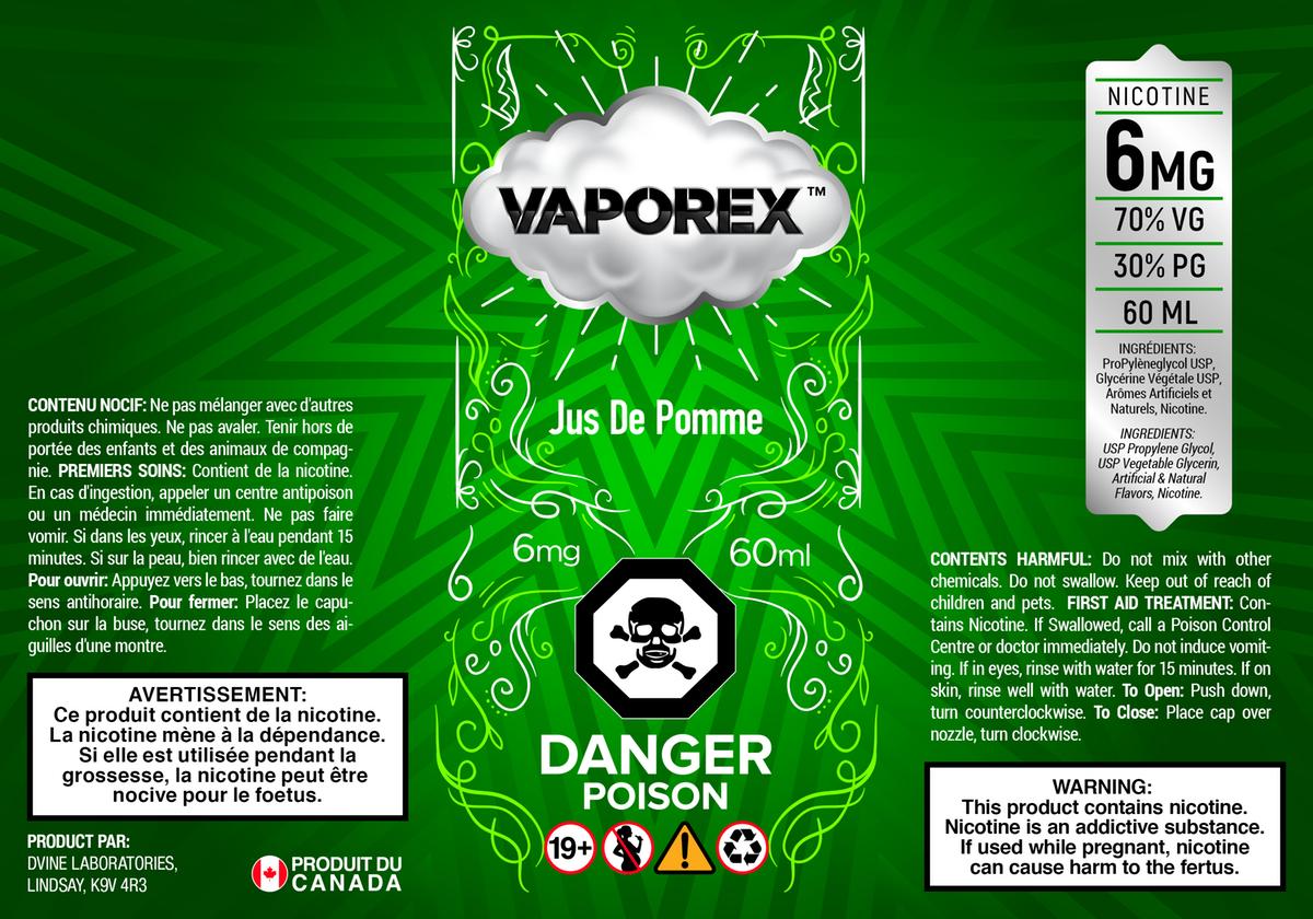 Vaporex e-liquid