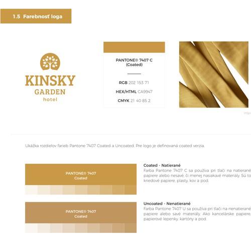 Kinsky Garden Hotel logo