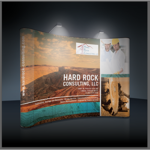 Tradeshow Banner Wanted - Hard Rock Consulting Needs You!!