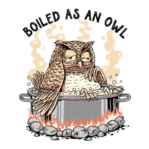 Boiled As An Owl