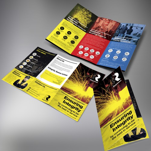 Responsive Tri-fold brochure