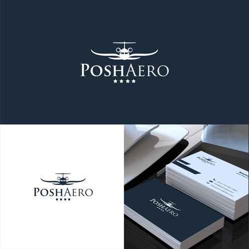 Logo concept for posh aero
