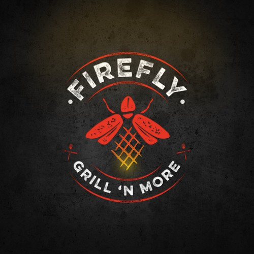 Logo Concept for Firefly Grill 'n More