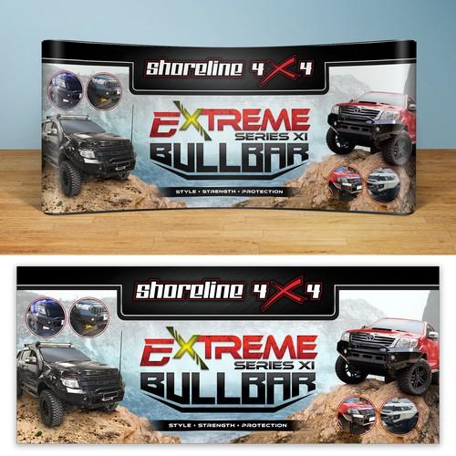 Shoreline 4x4's Extreme Bullbar Banner