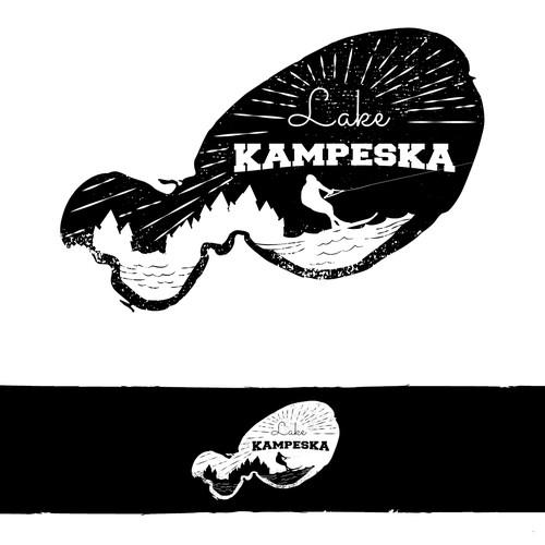 Vintage logo for Lake Kampeska
