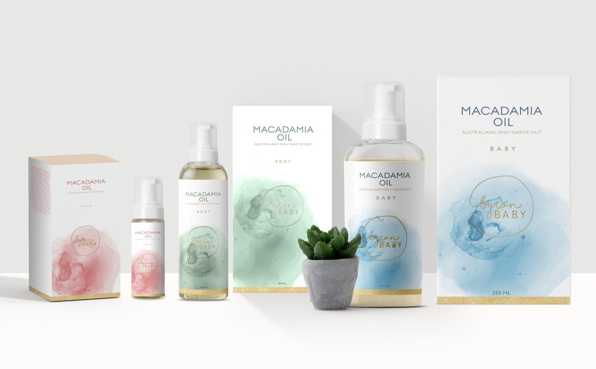 Designing a sophisticated label for an Australian skin care product