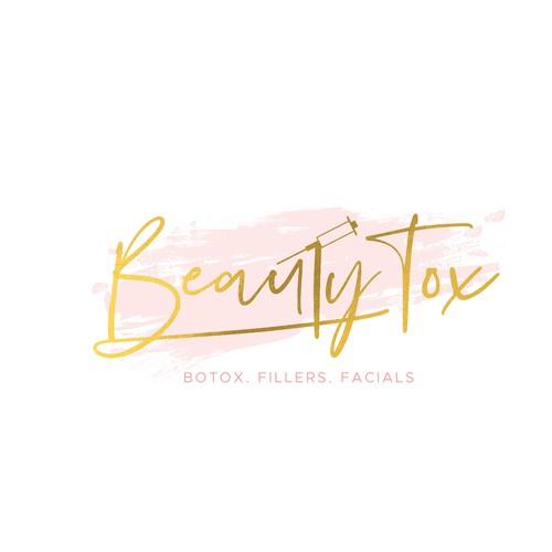 Street art inspired logotype for Beauty Tox