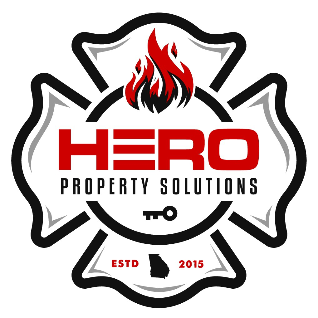 Firefighter needs a clean and simple real estate investing logo.