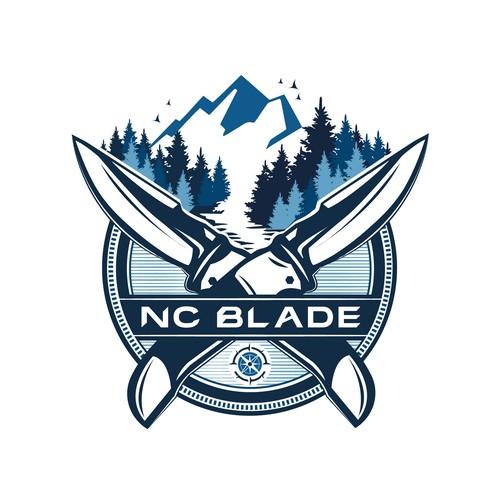 Courageous detailed logo design.