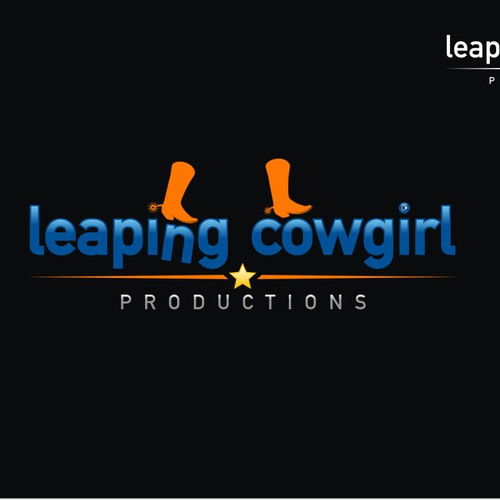 Leaping Cowgirl Productions needs a logo.  See your design in lights! We will promote the logo and the designer on all o