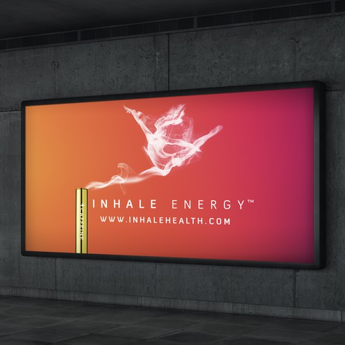 Inhale Health billboard