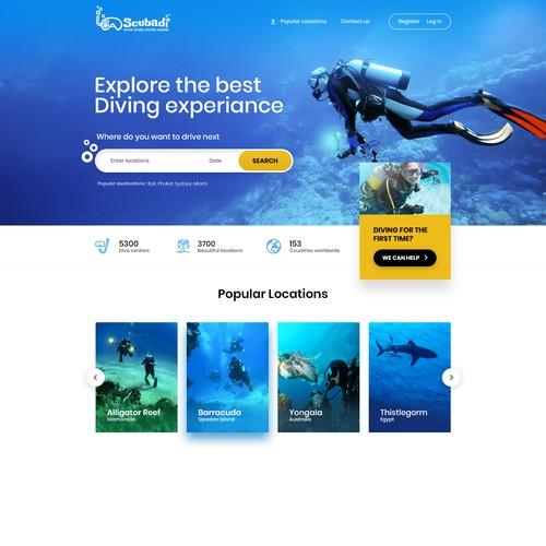 Scuba diving website