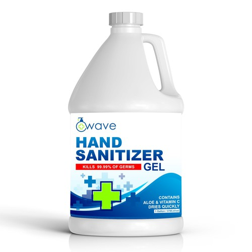 hand sanitizer design