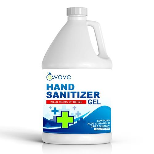 hand sanitizer design