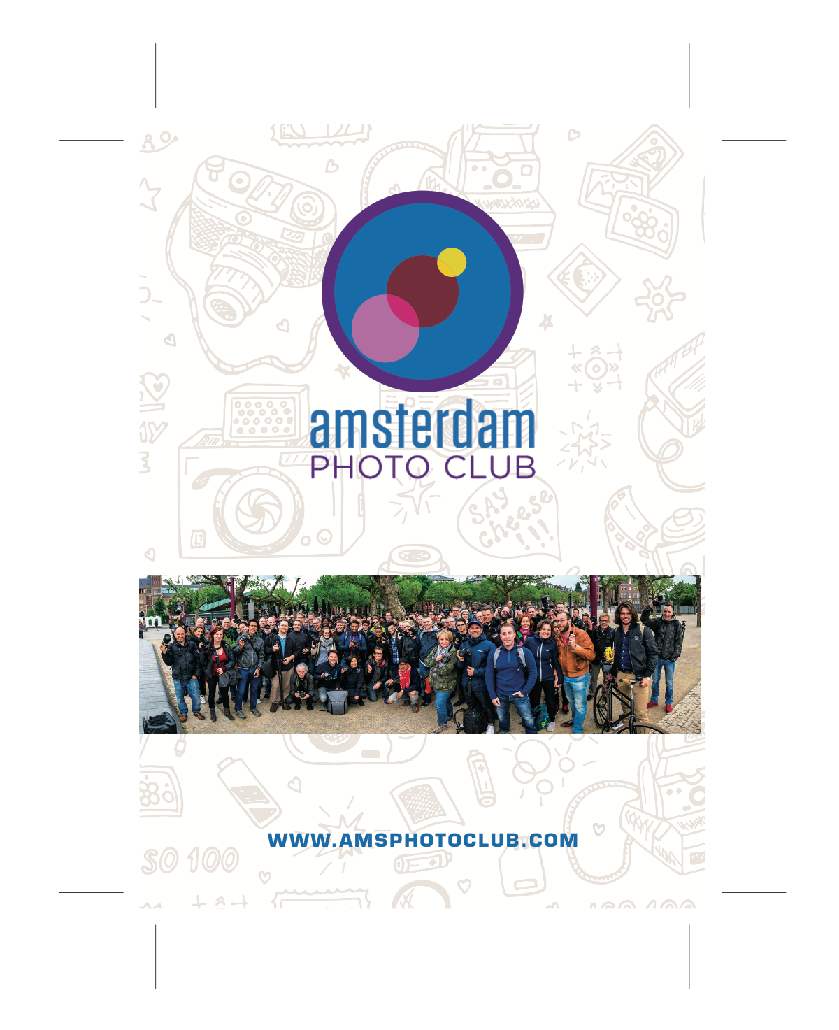 A6 flyer for Amsterdam Photo Club