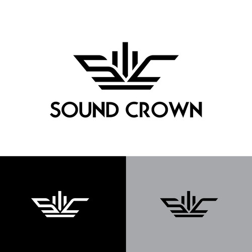 Sound Crown Logo Concept
