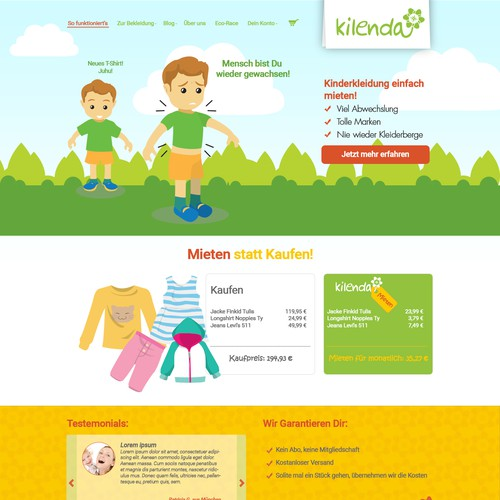 website for kinder store