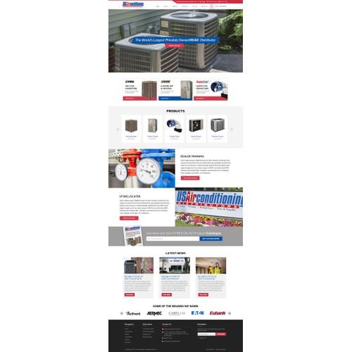 Web design for HVAC Company