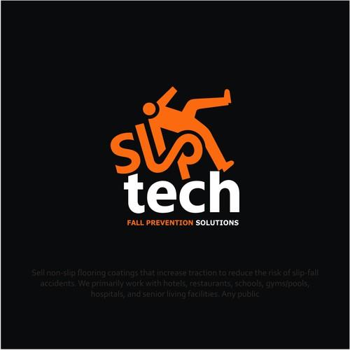 LOGO for SLIP Tech i.e. fall prevention solutions