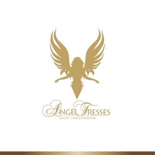 Elegant silhouette for hair extension brand