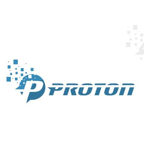 Proton logo design