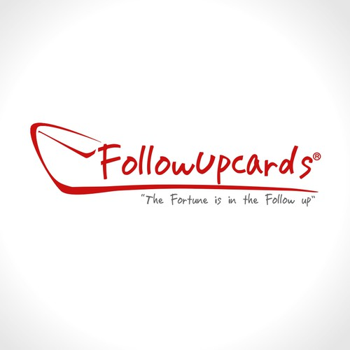 Helped FollowUpCards.com with a new logo