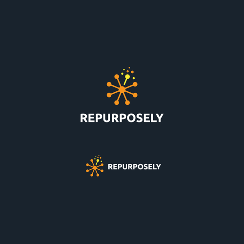 Colorful logo for REPURPOSELY